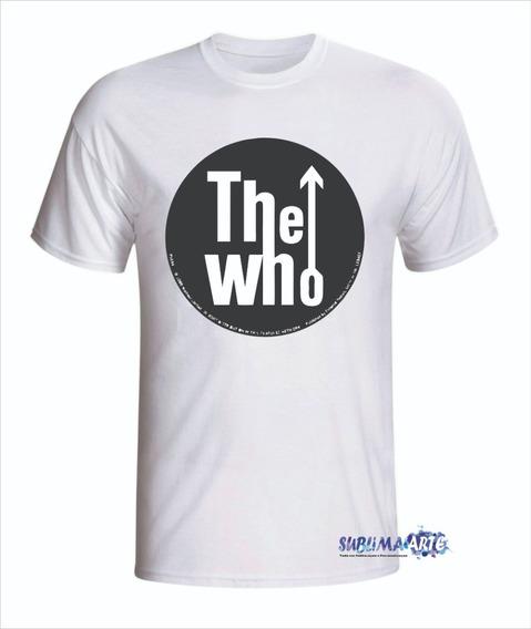 Camiseta Personalizada The Who- Promoção Em Todas Cores