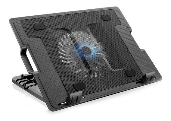 Suporte Notebook 1 Cooler Multilaser (ac166) Preto