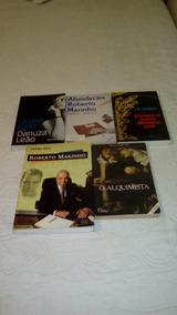 Lote 05 Livros Literatura Nacional Biografico