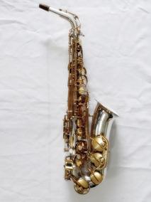 Sax Alto Júpiter Jas-567 Mib, Prata, Ótimo Estado