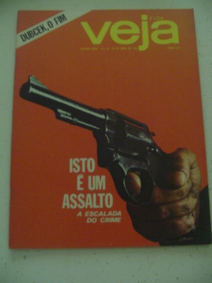 Revista Veja 33 Medianeira Pr Tomazzi Richetti Tauffe 1969