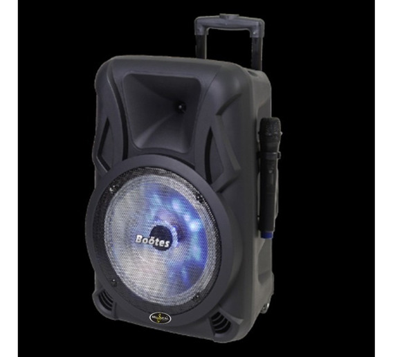 Caixa De Som Bootes Bmu610 - Bluetooth - Rádio Fm Sd/usb