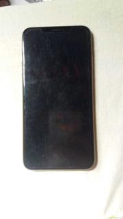 iPhone X Rosa Com Dourado