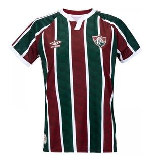 Camisa Umbro Fluminense Masc Oficial 1 2020 - Jogo Original
