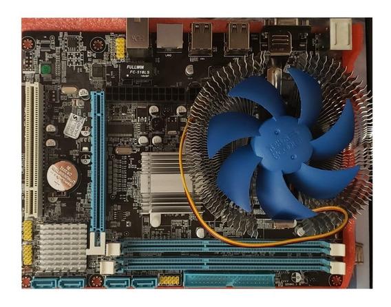 Placa Mãe Intel 775 Processador Core2 Duo Memória 4gb Ddr3