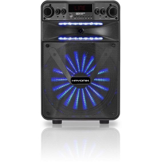 Caixa Portátil Bluetooth/usb/fm 100w Go!power 200 Hayonik