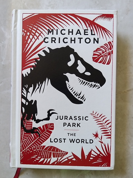 Livro Jurassic Park The Lost World Inglês Importado Couro