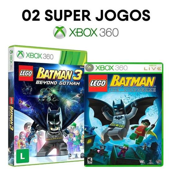 Lego Batman Beyond Gotham + Batman The Videogame - Xbox 360