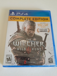 The Witcher 3 Wild Hunt Complete Edition Ps4 Nuevo Sellado
