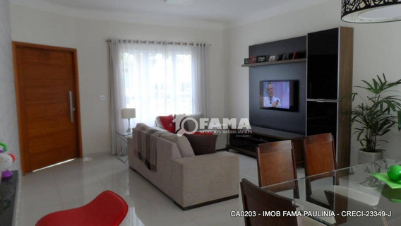 Casa Com 3 Dormitórios Para Alugar, 170 M² Por R$ 2.600,00/mês - Condomínio Campos Do Conde - Paulínia/sp - Ca0203