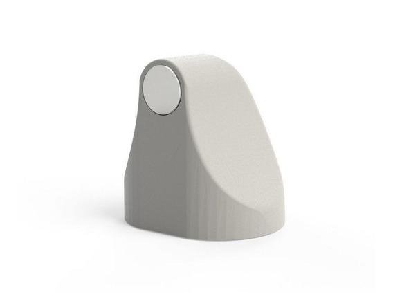 Trava Porta Magnético Universal Imã Abs Adesivo Comfortdoor