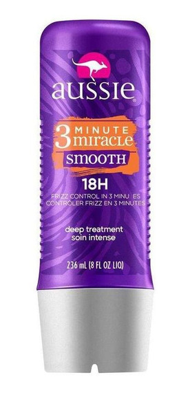 Tratamento Aussie 3 Min. Miracle Smooth Frizz Control 236ml