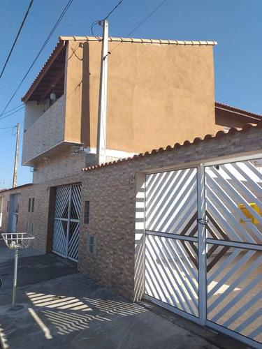 Casa Com 3 Dorms, Nossa Senhora Sion, Itanhaém - R$ 420 Mil, Cod: 3056 - V3056