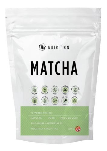 Imagen 1 de 1 de Té Matcha Puro 120gr Dlk Nutrition