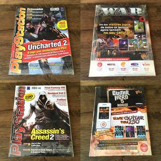 Lote - 10 Revistas Dicas & Truques Para Playstation