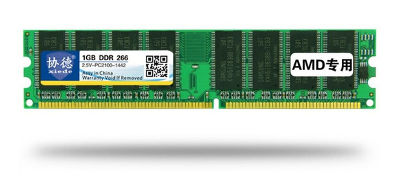 Xiede Ddr 266 1g Memoria De Pc Desktop Módulo Pc-2100 Amd Es