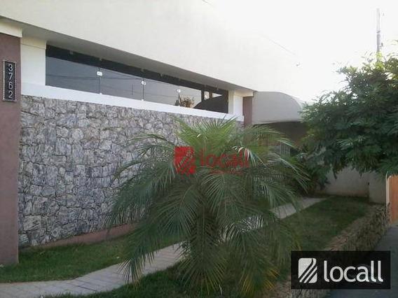 Casa Comercial Para Locação, Vila Santa Cruz, São José Do Rio Preto. - Ca0127