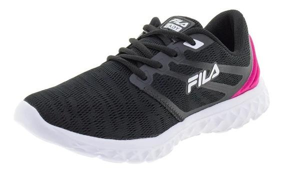 Fila Zapatillas Running Mujer Lady Footwear Negro - Rosa