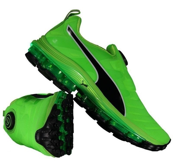 Tênis Puma Voltage Disc Verde Masculino Original