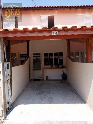 Imagem 1 de 17 de Sobrado Com 2 Dormitórios À Venda Por R$ 199.000,00 - Socorro - Mogi Das Cruzes/sp - So0205