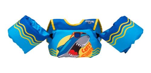 Colete Salva-vidas Infantil Homologado Prolife - Crazy Shark