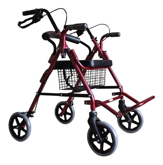 Andadera Ortopedica Rollator Hibrida Para Adulto Msi