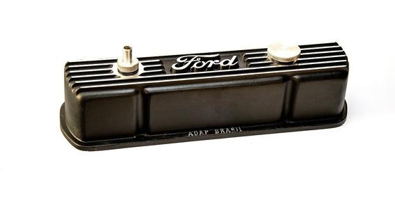 Tampa De Válvula Do Motor Opala 4cc Em Alumínio Para Ford