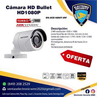 Cámara Hd 1080p Hikvision