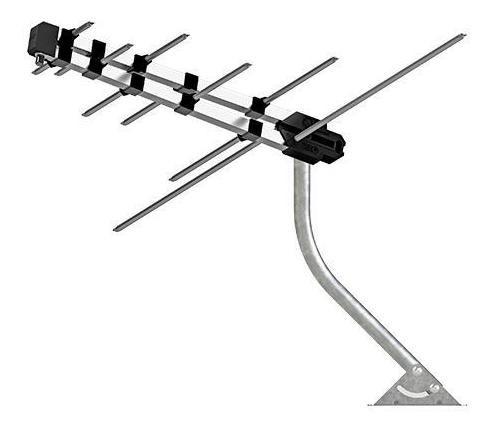 Antenas Externa Tv Digital 6dbi + Completa Mastro + Cabo