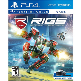 Rigs Mechanized Combat League - Ps4 Vr Mídia Física