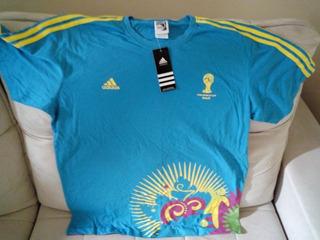 Camisa adidas Volunteer Copa 2014