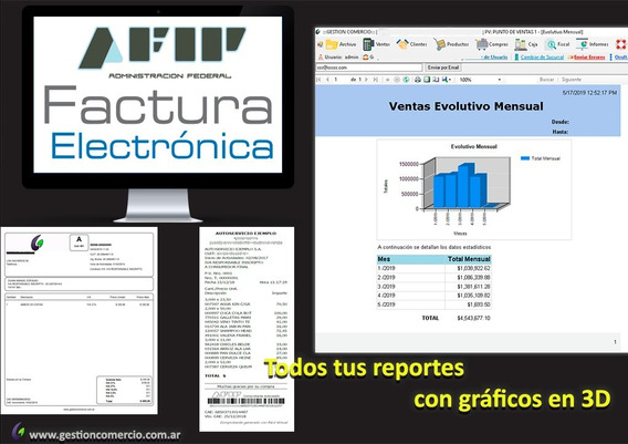 Factura Electronica Software Kioscos Drugstores Stock Ventas