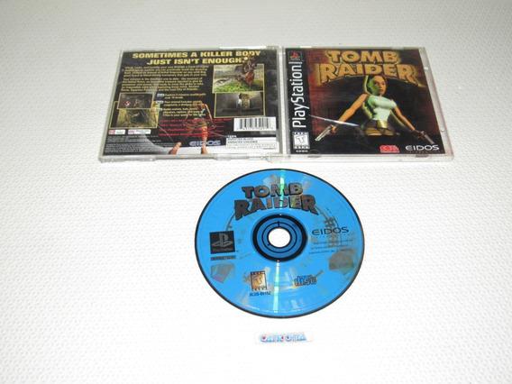 Tomb Raider 1 Original Playstation One Black Label