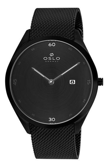 Relógio Oslo Ompsss9u0004 + Garantia De 1 Ano + Nf