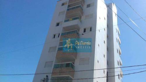 Imagem 1 de 29 de Apartamento Com 1 Dormitório À Venda, 43 M² Por R$ 215.000 - Vila Guilhermina - Praia Grande/sp-p1g34a - Ap0481
