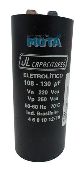 Capacitor De Partida Jl 108x130 220v