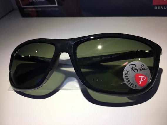Óculos De Sol Rayban Polarizado Rb8351 Exclusivo Original