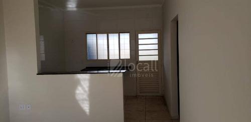 Imagem 1 de 6 de Casa Com 2 Dormitórios À Venda, 55 M² Por R$ 165.000 - Loteamento Jardim Laguna - Mirassol/sp - Ca2663