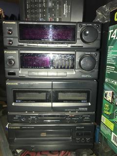 Minicomponente Panasonic Sa-ch33 Equipo De Audio De Lo Mejor