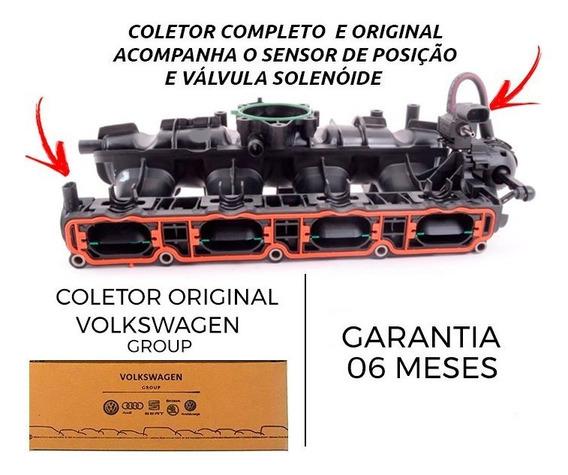 Coletor Admissao Jetta Tiguan Passat A3 2.0 Tsi Original Vw