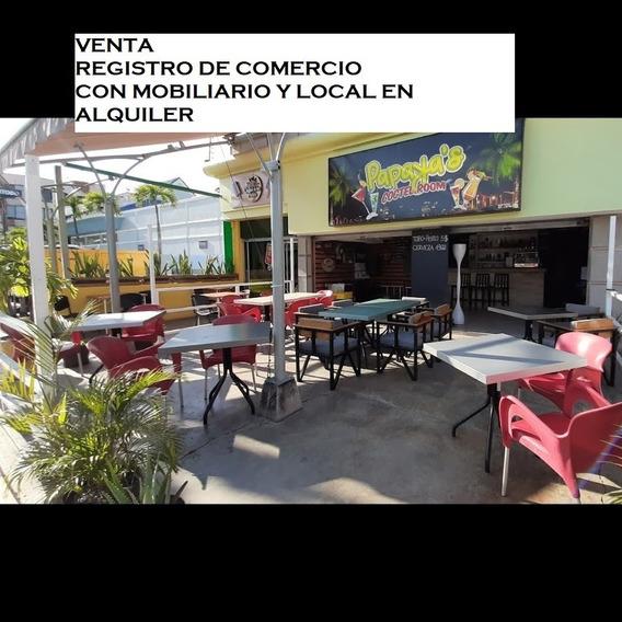 Local Comercial En Alquiler Y Registro De Comercio En Venta