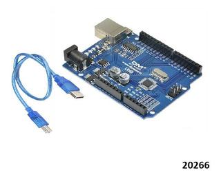Arduino Uno R3 Mega328p Ch340g Compatible - W01