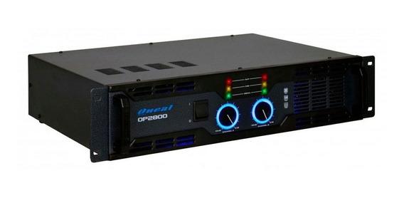 Amplificador De Potência Oneal Op 2800 500w Rms