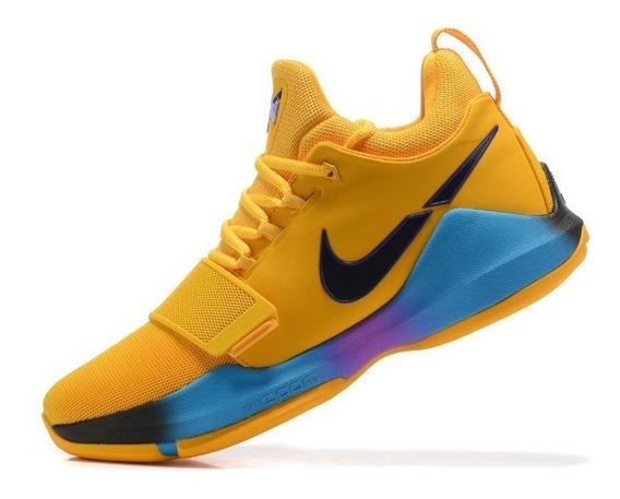 Tênis Pg 1 Shoes Yellow Gladiator Og Raro Basketball Shoes