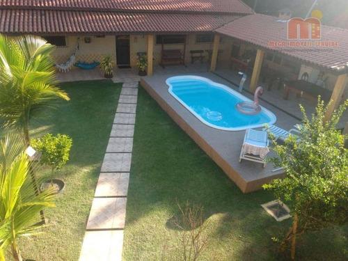 Imagem 1 de 15 de Chácara Com 2 Dormitórios À Venda, 378 M² Por R$ 380.000,00 - Jardim Diplomata - Itanhaém/sp - Ch0176