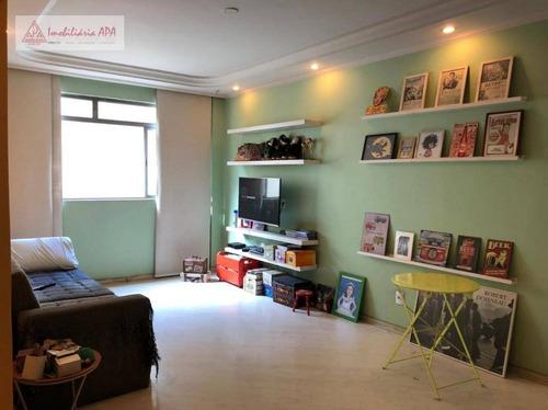 Apartamento Com 3 Dormitórios À Venda, 97 M² Por R$ 850.000,00 - Santa Cecília - São Paulo/sp - Ap1616