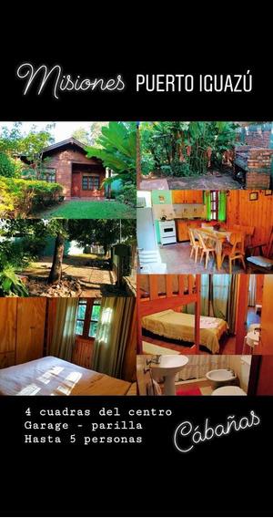 Cabaña En Puerto Iguazu Cataratas. Ideal Para La Familia!!