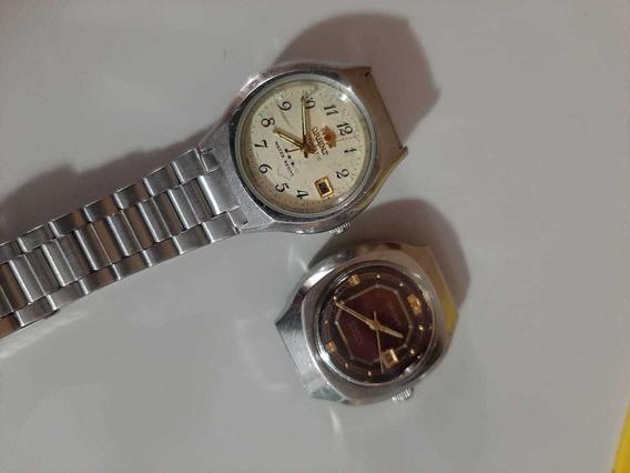 2 Relógios Orient Automático Feminino