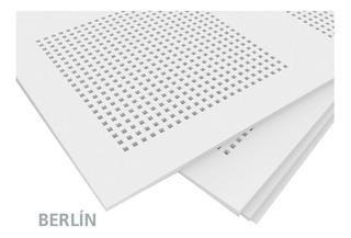 Placas Paneles De Yeso Acústico Decorativo Linea Berlin