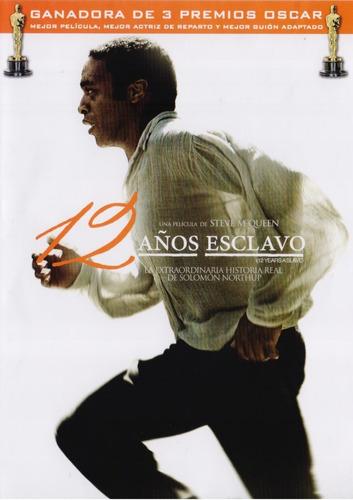 12 Años De Esclavo 12 Years A Slave Pelicula Dvd